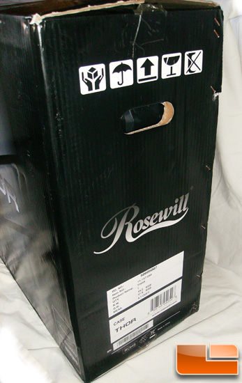 Rosewill Thor XL-ATX Gaming Case Box Side