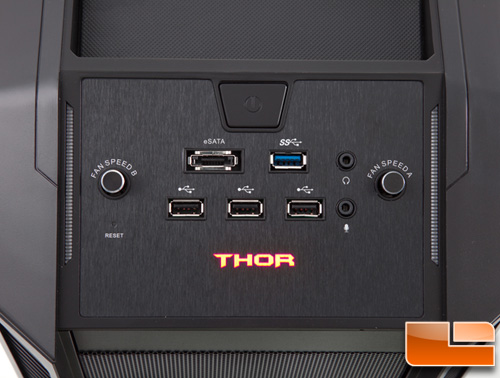 Rosewill Thor XL-ATX Gaming Case Front Control Panel