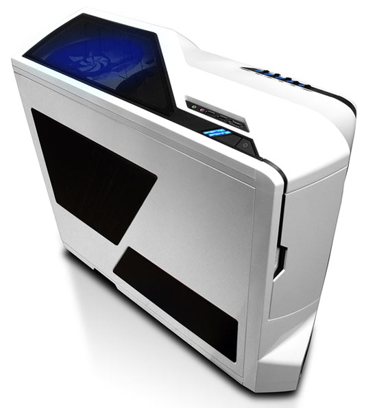 NZXT Phantom White Gaming Case