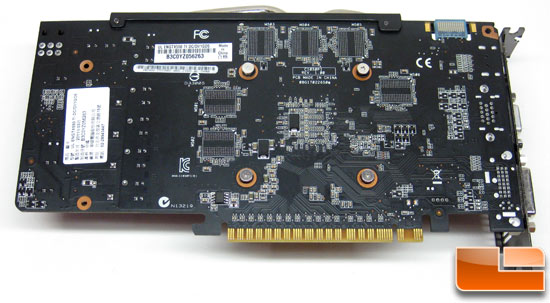 ASUS Ultimate GeForce ENGTX550 Ti Video Card Back
