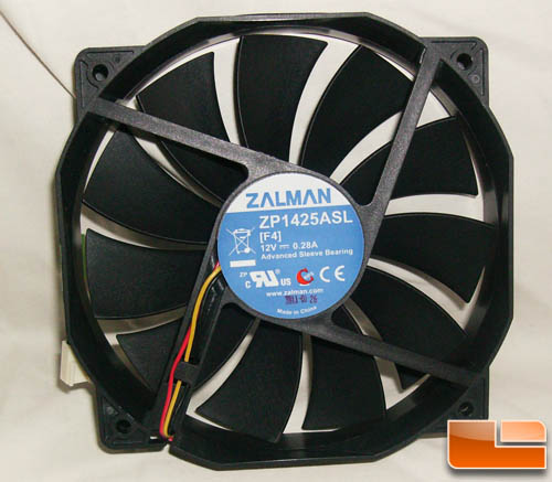 Zalman ZM-F4 135mm Multipurpose Quiet Fan