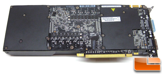 ASUS GeForce GTX590 Video Card Back