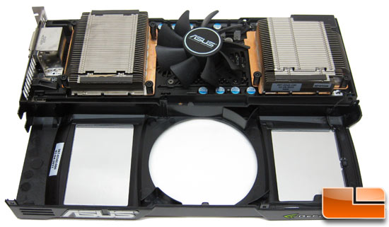 ASUS GeForce GTX590 Video Card Reverse Angle