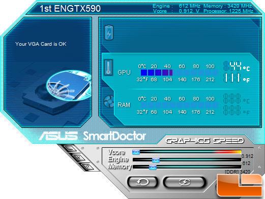 ASUS GeForce GTX590 SmartDoctor