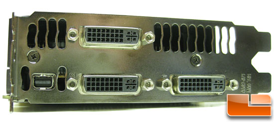 ASUS GeForce GTX590 Video Card DVI Outputs