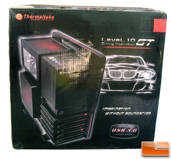 Thermaltake Level 10 GT Full Tower box front