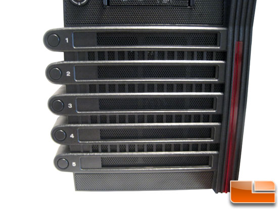 Thermaltake Level 10 GT Full Tower Pitstop Hot Swap system