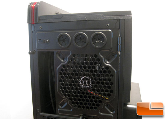 rear top of Thermaltake Level 10 GT Full Tower