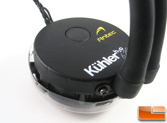 Antec Kuhler H2O 620 pump and cold plate housing