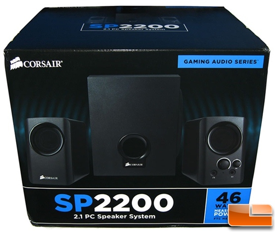 Corsair Gaming Audio Series SP2200 2.1 PC Speakers Box