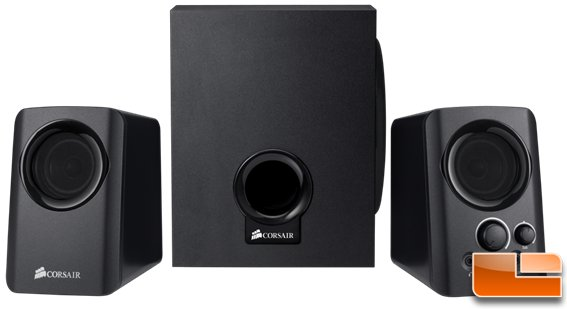 Corsair SP2200 2.1 PC Speaker Review