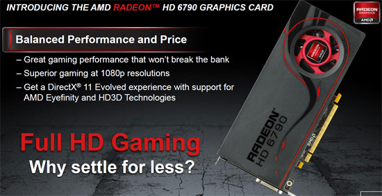 AMD Radeon HD 6790 1GB Video Card Review