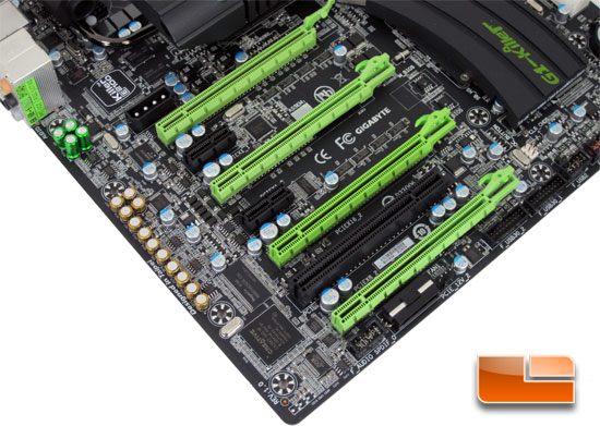 GIGABYTE G1 Assassin X58 Motherboard Layout