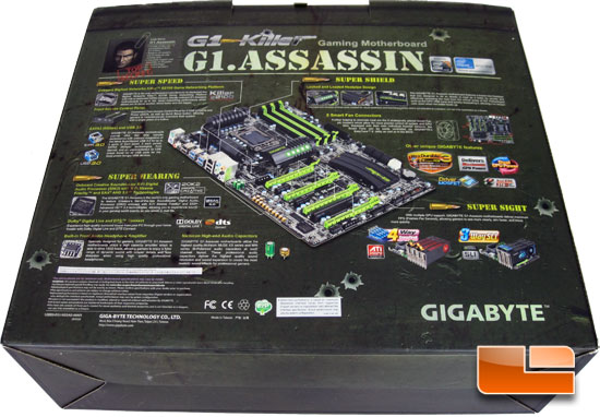 GIGABYTE G1 Assassin Retail Package and Bundle