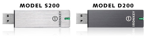 IronKey S200 and D200 USB Flash Drives