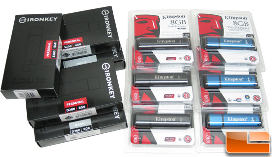 Kingston and IronKey FIPS 140-2 Flash Drive