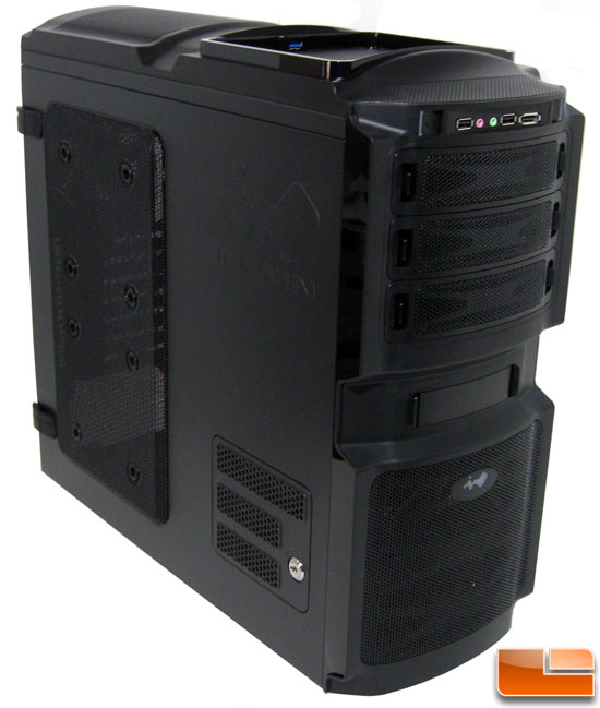 In-Win BUC Black Gaming Case
