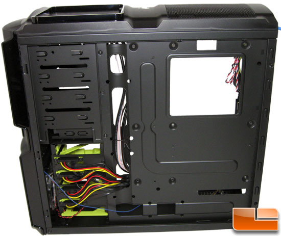 In-Win BUC Gaming Chassis Interior