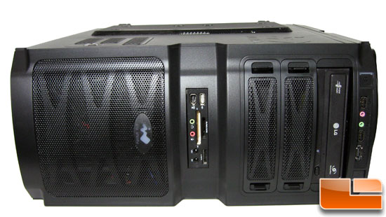 In-Win BUC Gaming Chassis Front Panel Fully Installed