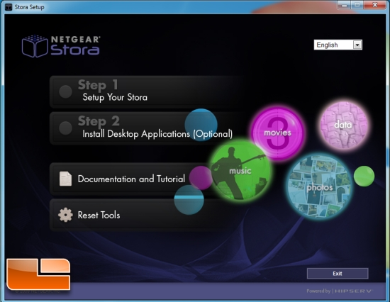 Netgear Stora Home Media Network Storage Review - Page 3 of
