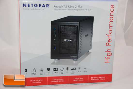 Netgear ReadyNas Ultra 2 Plus Stock