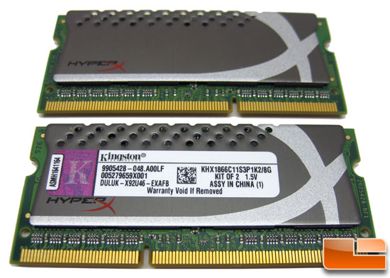 Kingston HyperX Plug and Play SO-DIMM Modules