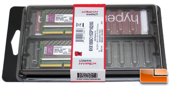 Kingston HyperX PnP DDR3 Memory