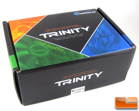 Thermolab Trinity CPU Cooler box