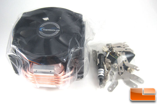 Thermolab Trinity CPU Cooler unboxed