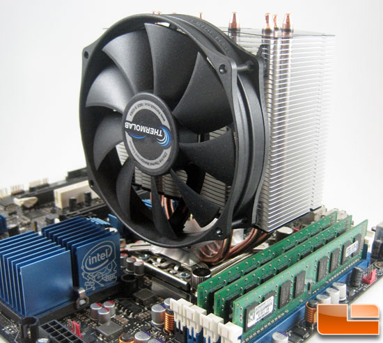 Thermolab Trinity CPU Cooler installed