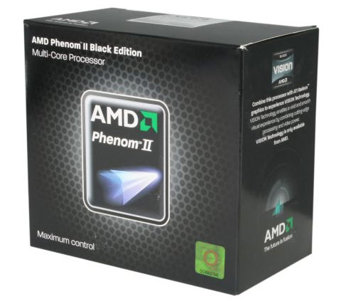 AMD Phenom II X4 980 BE Retail Box