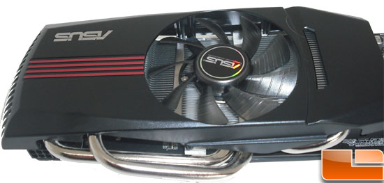 Asus Radeon HD 6870 Video Card Top