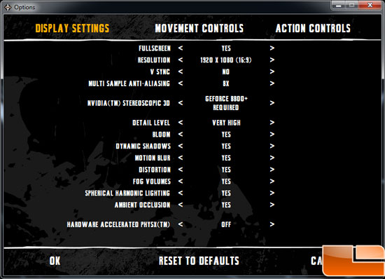 Gigabyte GeForce GTX 560 OC Video Card Batman AA Settings