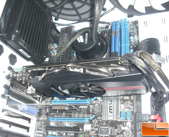 Asus Radeon HD 6870 Video Card Test Rig