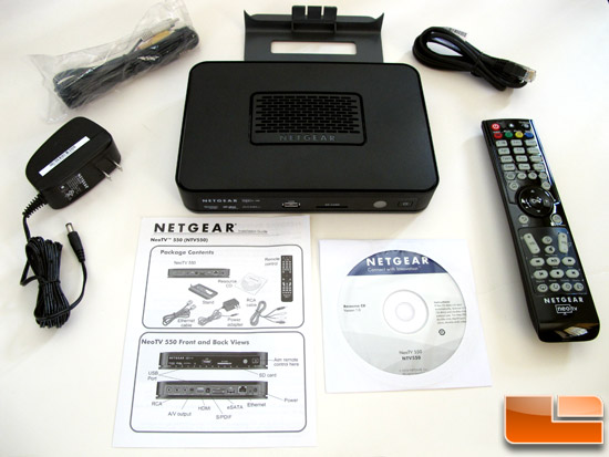 Netgear NeoTV 550 HD Media Player