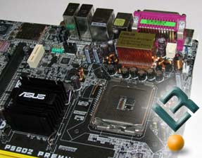 LGA775 Socket Area