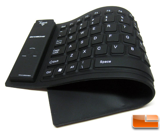 Scosche freeKEY Flexible Bluetooth Keyboard