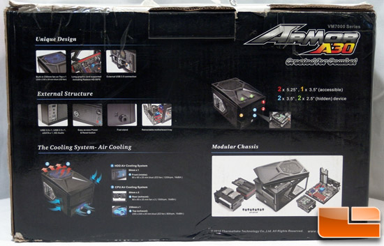 Thermaltake eSports Armor A30 Lan Box mATX Gaming Case