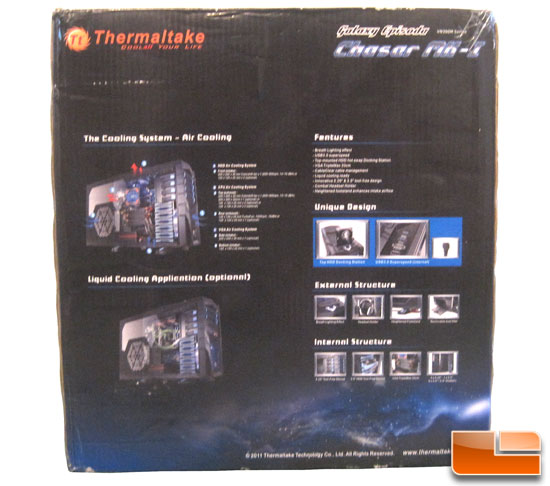 Thermaltake Chaser MK-1 back of box