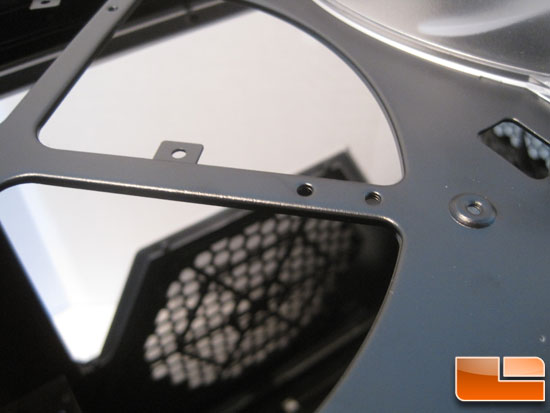 Thermaltake Chaser MK-1 top fan mount holes