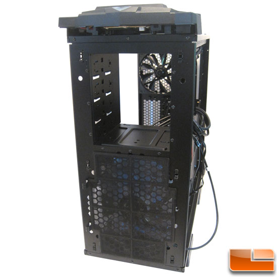 Thermaltake Chaser MK-1 behind the front panel