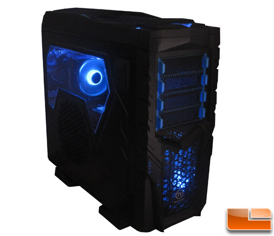 Thermaltake Chaser MK-1 powered up