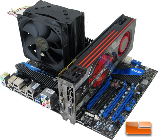 MSI 990FXA-GD80 Motherboard Test Bench