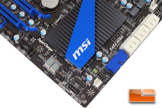 MSI 990FXA-GD80 Motherboard Layout