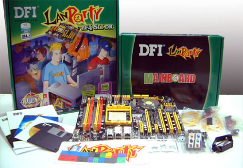 The DFI LANParty NF4 SLI-DR