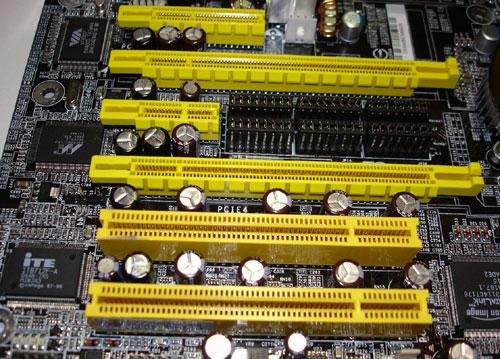PCI E Slots