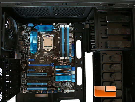 BitFenix Shinobi Window mobo