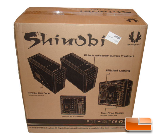 BitFenix Shinobi Window box back