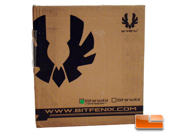 BitFenix Shinobi Window box front