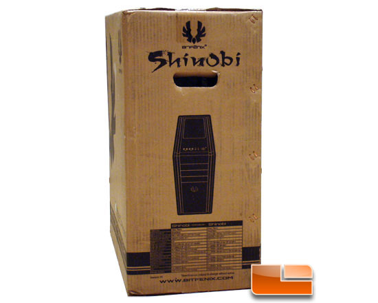 BitFenix Shinobi Window box left